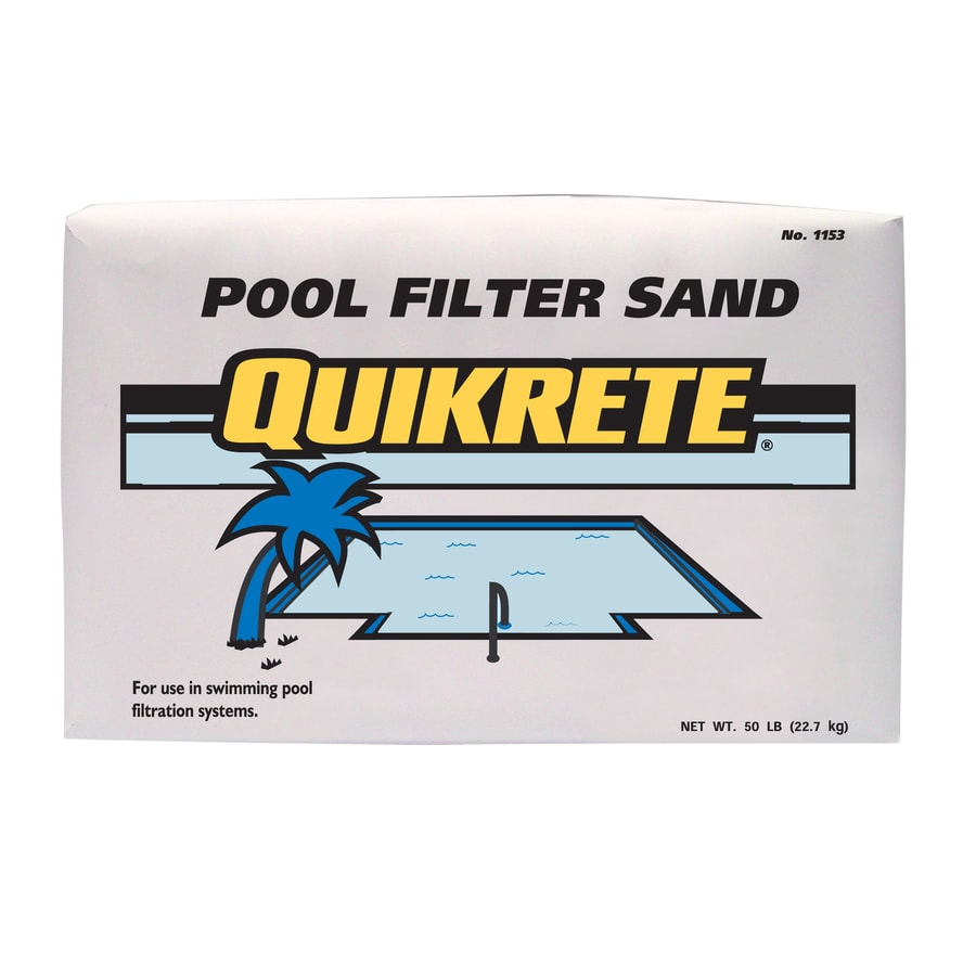 Quikrete 50 Lb Sand Pool Filter Aid At Lowes Com