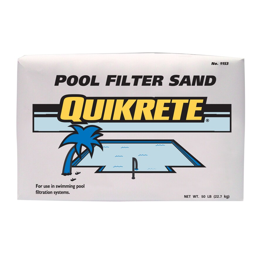 Quikrete 50 Lb Sand Pool Filter Aid