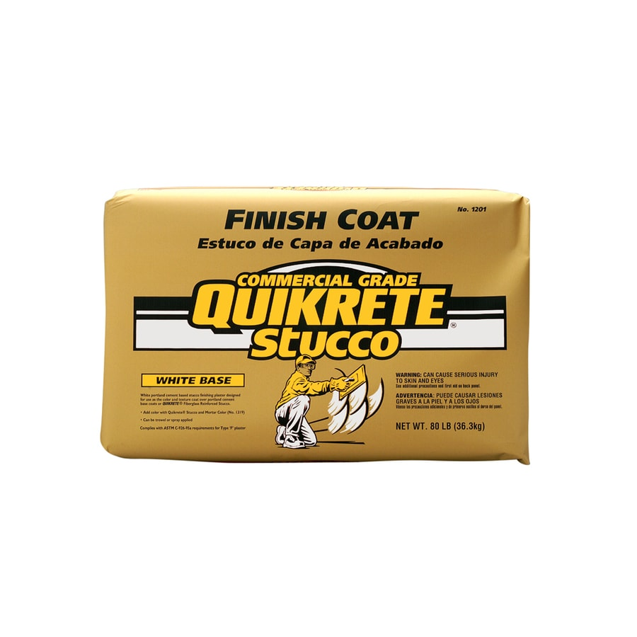 QUIKRETE 80-lb Premixed Finish Coat Stucco Mix