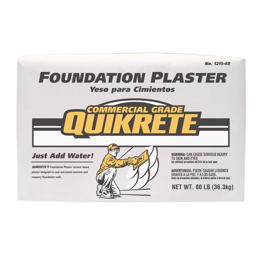 QUIKRETE 80-lb Bag Premixed Foundation Plaster