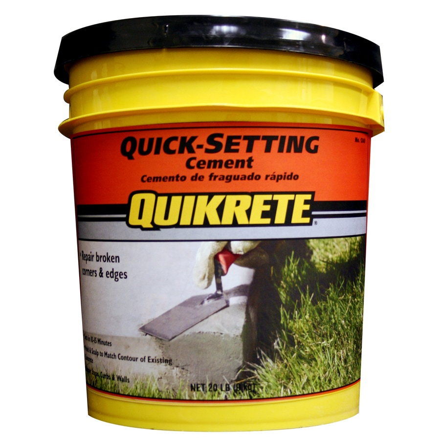QUIKRETE Quick Setting 20-lb Cement Mix