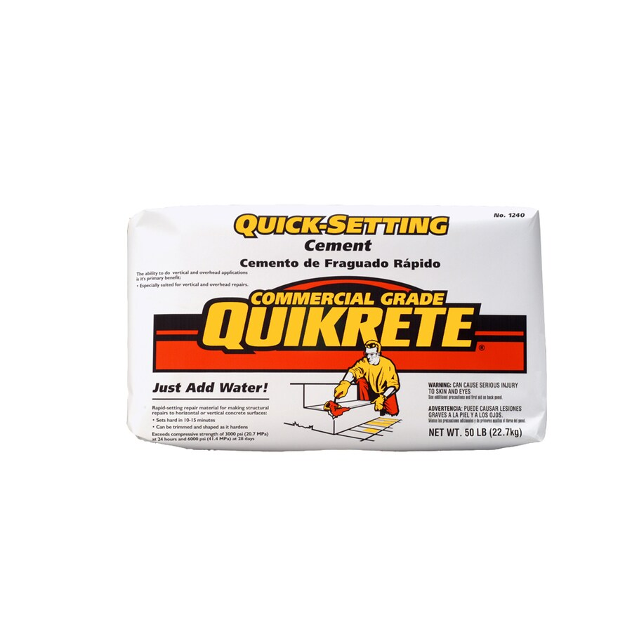 QUIKRETE Quick Setting 50-lb Cement Mix