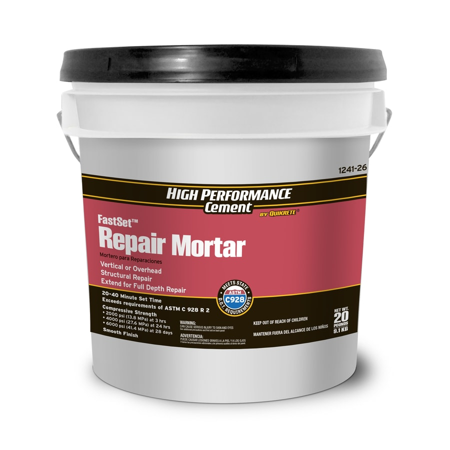 High Performance Cement by Quikrete High Performance Cement 20-lb Gray Type-M Mortar Mix