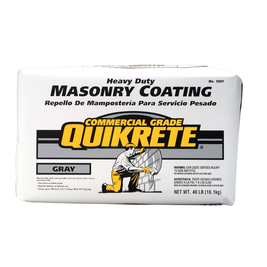 Heavy Duty Coating : Shop quikrete concrete masonry sealer for mortar