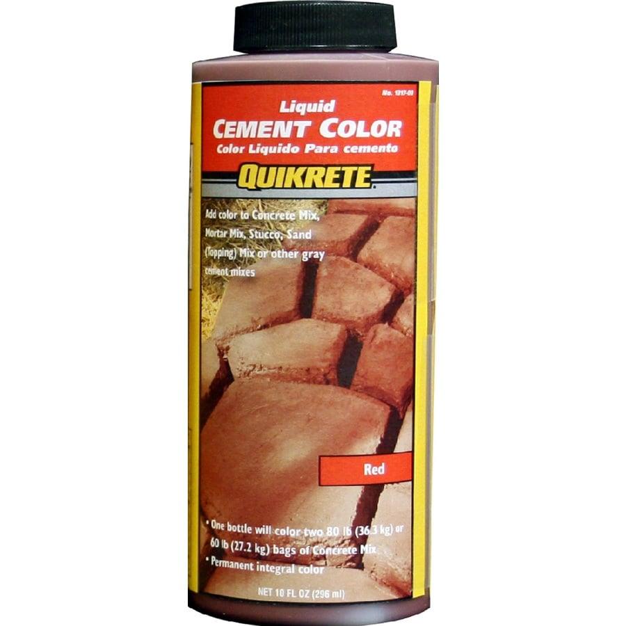 QUIKRETE Red Cement Color Mix