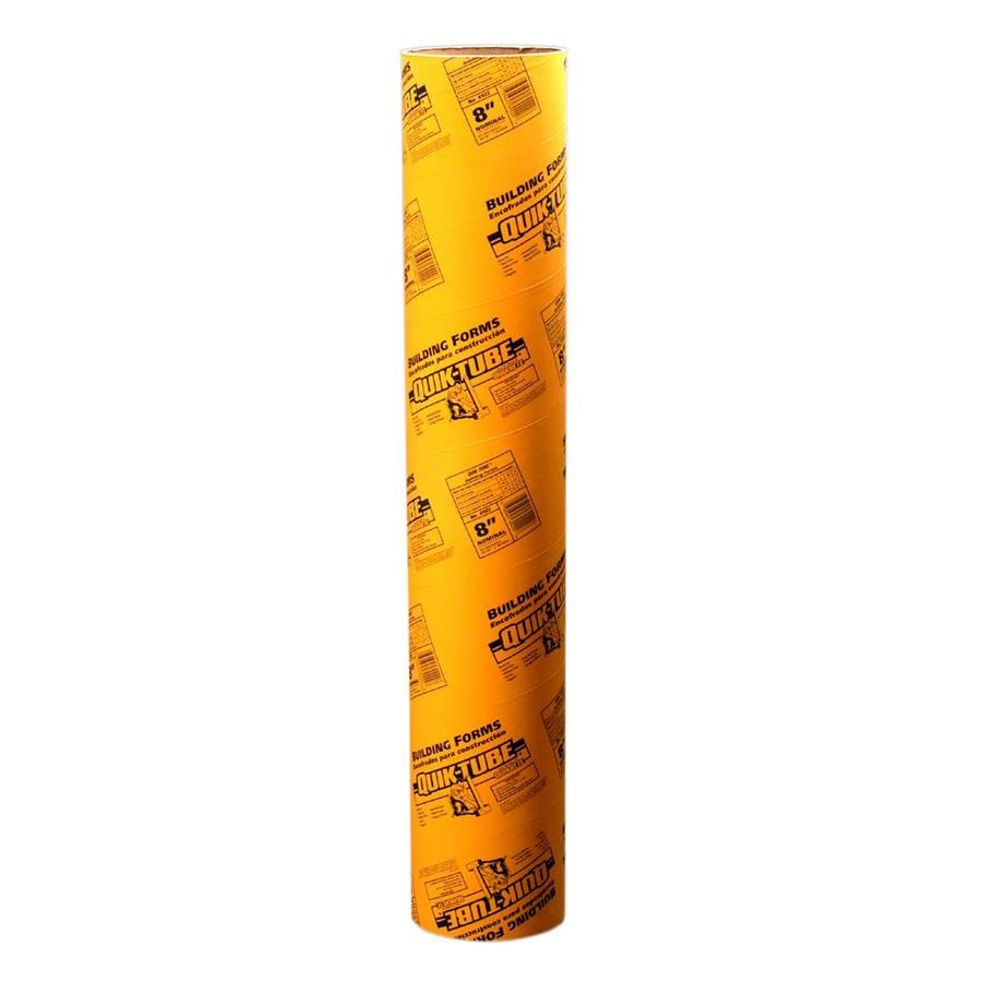 Shop QUIKRETE 48-in Concrete Tube Form (Common: 6-in; Actual: 5.5 ...