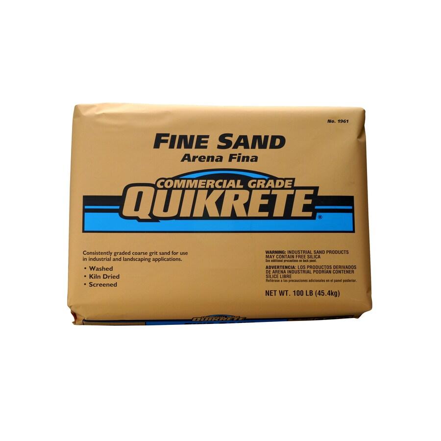 QUIKRETE 100-lb Commercial Grade Fine Sand
