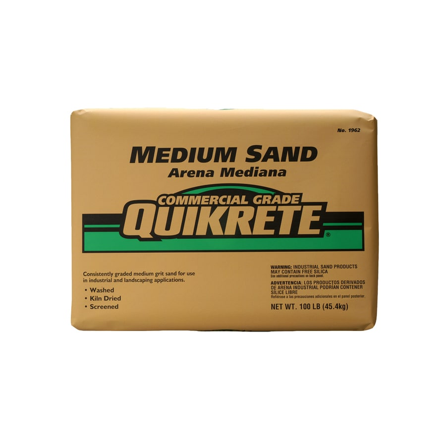QUIKRETE 100-lb Commercial Grade Medium Sand