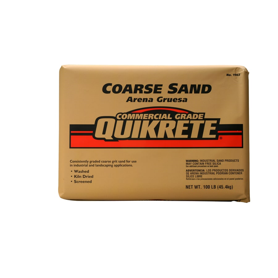 QUIKRETE 100-lbs Silica Sand