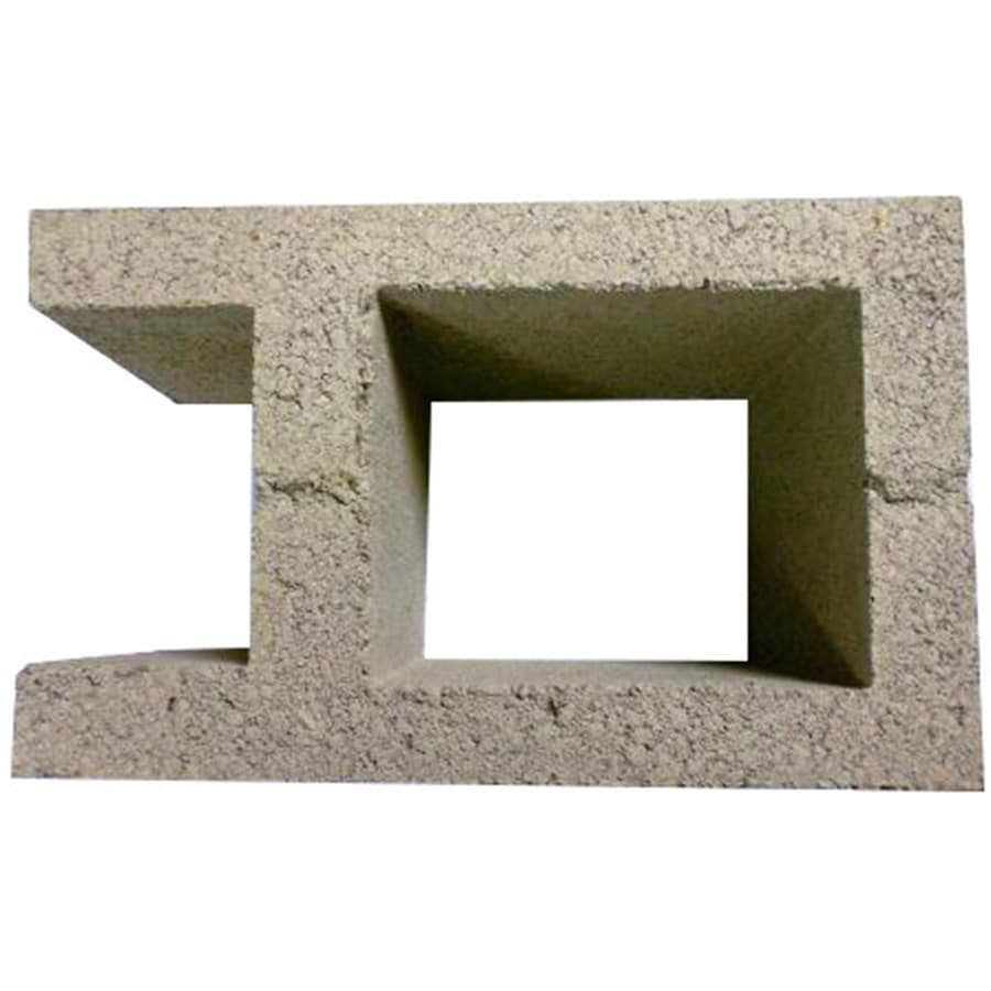 Concrete Pilaster Design Fence Block (Common: 8-in x 10-in x 16-in; Actual: 7.625-in x 9.625-in x 15.625-in)