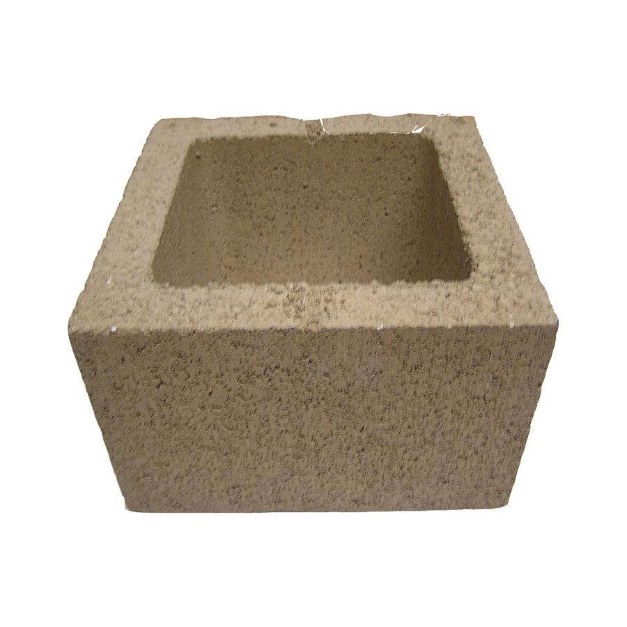 QUIKRETE Standard Cored Concrete Block (Common: 12-in x 8-in x 12-in; Actual: 11.625-in x 7.625-in x 11.625-in)