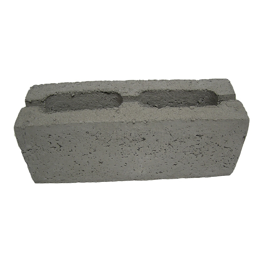 QUIKRETE Standard Cored Concrete Block (Common: 6-in x 6-in x 16-in; Actual: 5.625-in x 5.625-in x 15.625-in)