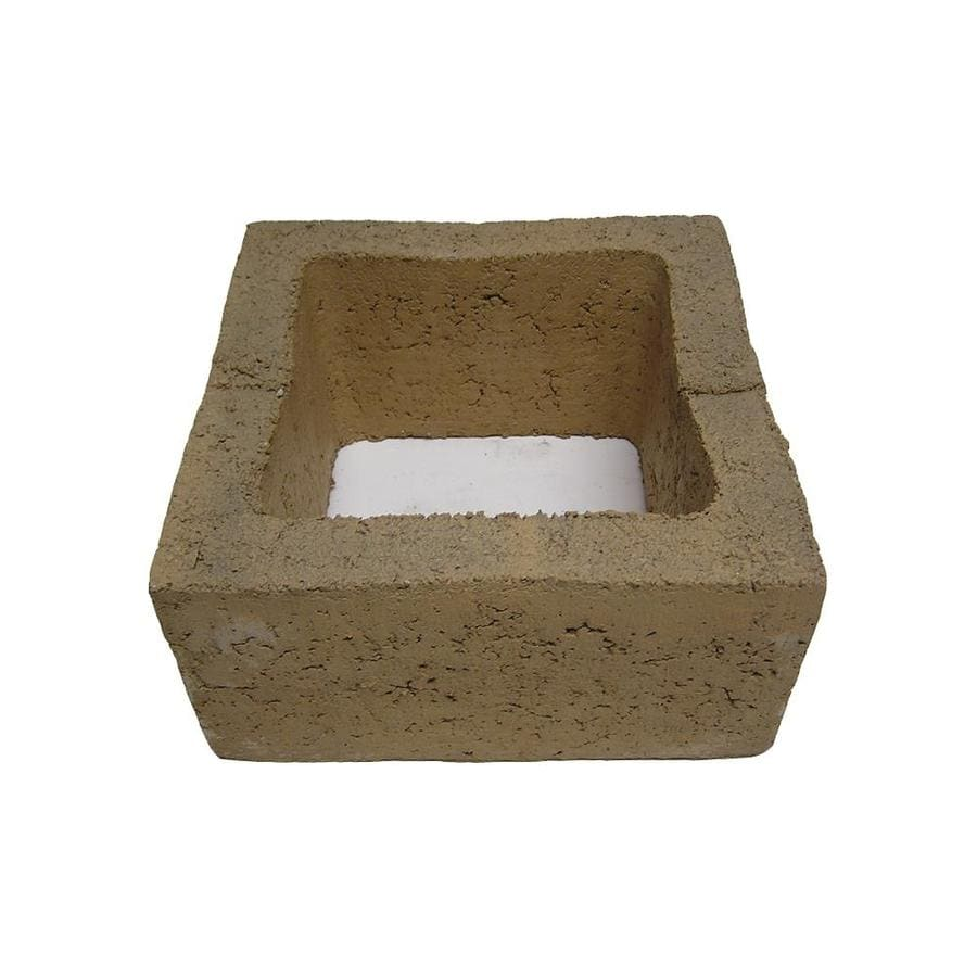 QUIKRETE Standard Cored Concrete Block (Common: 12-in x 6-in x 12-in; Actual: 11.625-in x 5.625-in x 11.625-in)