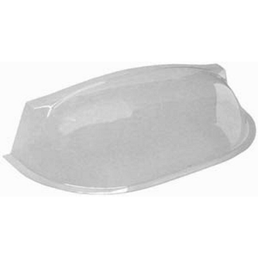 MacCourt 50-in x 21-1/2-in x 11-in Plastic Elongated Bubble Window Well Covers