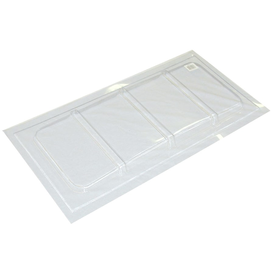 Shop maccourt plastic window well cover at for Window plastic
