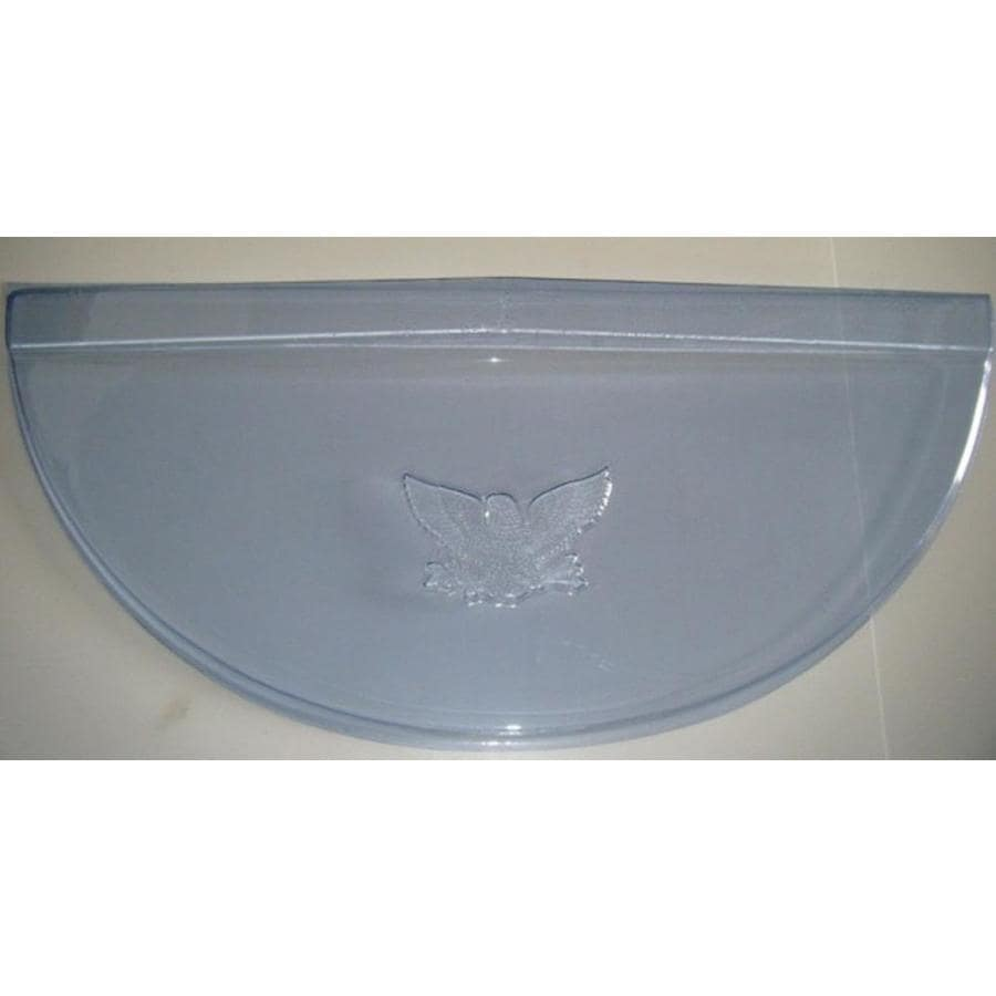 MacCourt 40-in x 17-in x 4-in Circular Window Well Cover