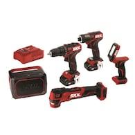 SKIL PWR CORE 12 5-Tool 12-Volt Brushless Power Tool Combo Kit Deals