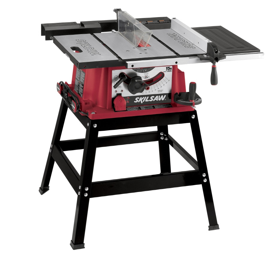 Shop skil 15 amp 10 in table saw at for 10 table saws
