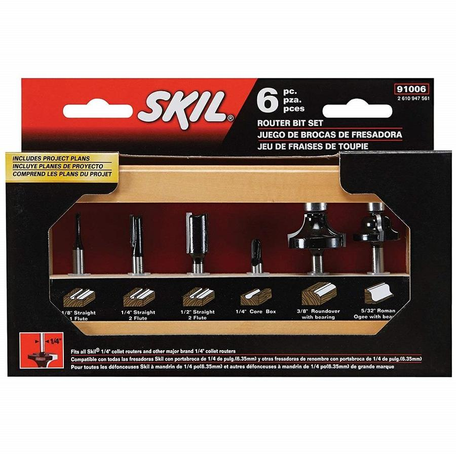 Skil Router Bit Set