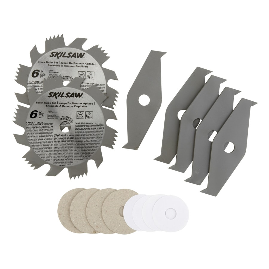Shop skil steel dado circular saw blade set at lowes skil steel dado circular saw blade set greentooth Images