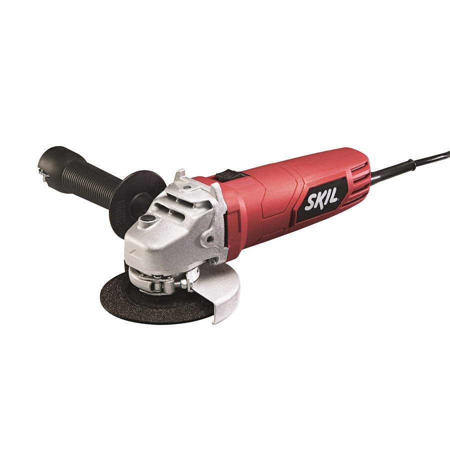 Skil 4-1/2-in 6-Amp Sliding Switch Corded Angle Grinder