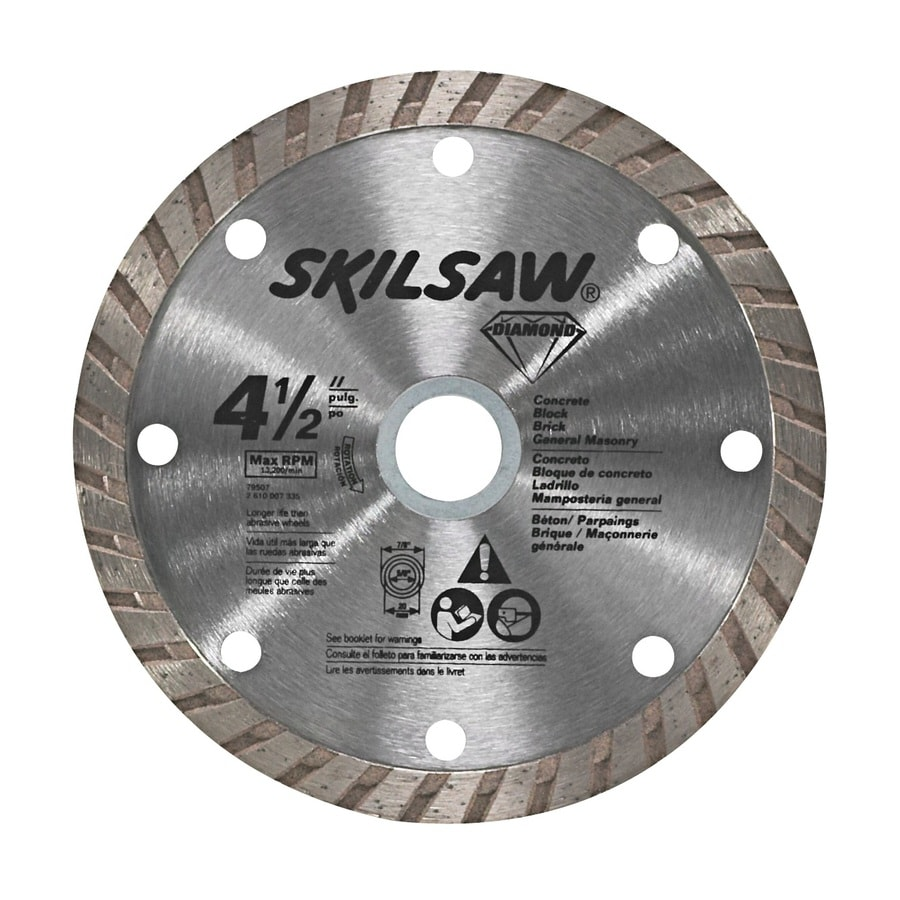 Shop skil 4 12 in wet or dry turbo diamond circular saw blade at skil 4 12 in wet or dry turbo diamond circular saw blade greentooth Image collections