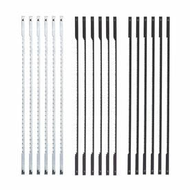 Shop scroll saw blades sets at lowes skil 5 in pinned scroll saw blade set greentooth Images