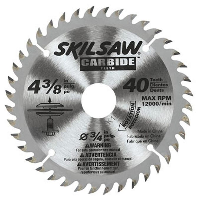 40 Tooth Carbide Circular Saw Blade