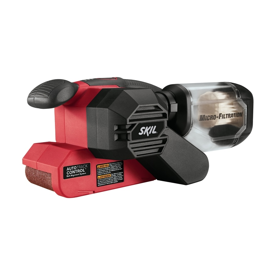 shop skil 120 volt 6 amp belt sander at. Black Bedroom Furniture Sets. Home Design Ideas