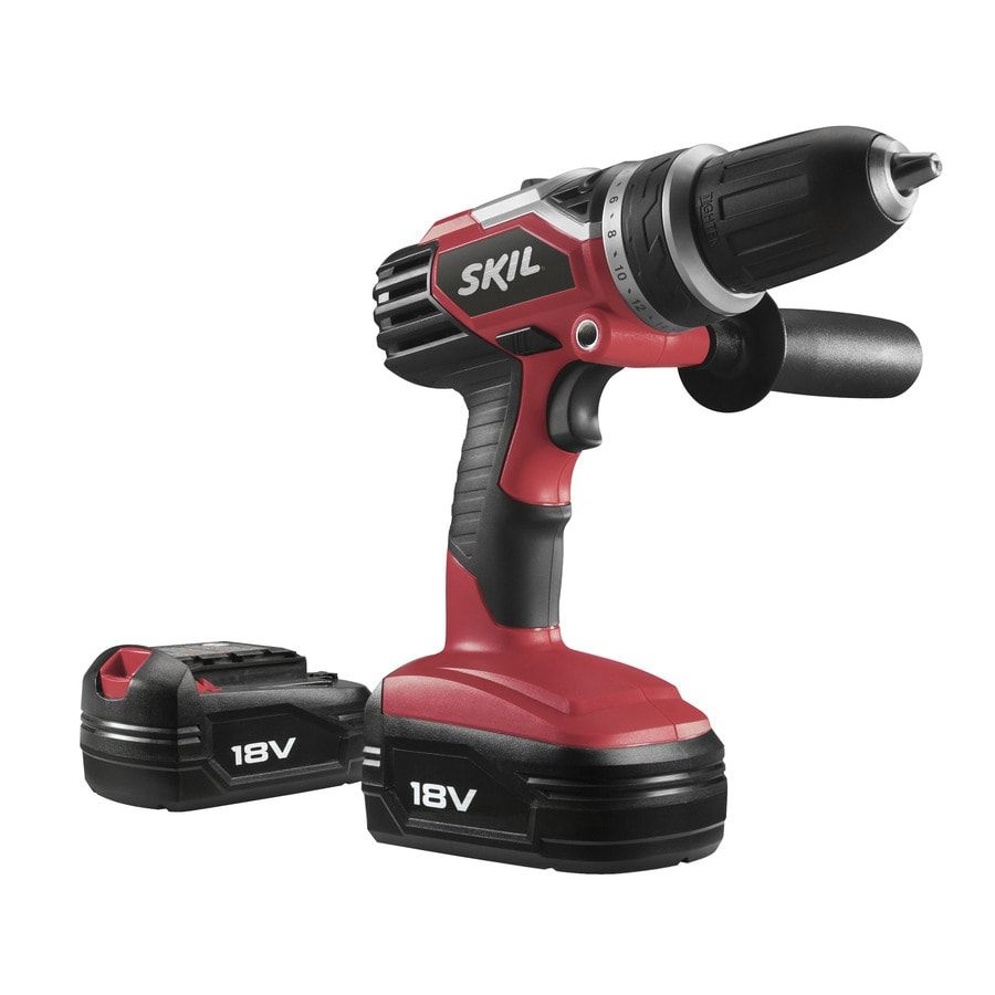 Skil 18-Volt Lithium Ion (Li-ion) 1/2-in Cordless Drill with Battery
