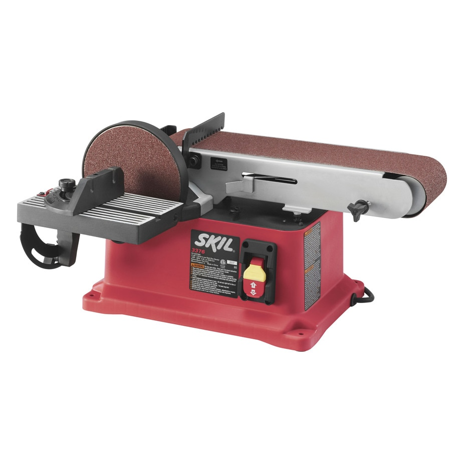 Skil 4 3 Amp Benchtop Sander At Lowes Com