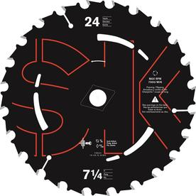 Skilsaw-75924 7-1/4 In. x 24-Tooth Carbide Tip Saw Blade