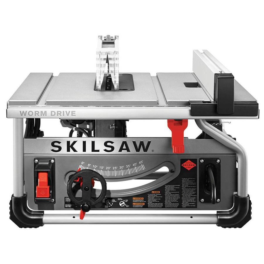 SKILSAW 15-Amp 10-in Carbide-Tipped Worm Drive Portable Table Saw