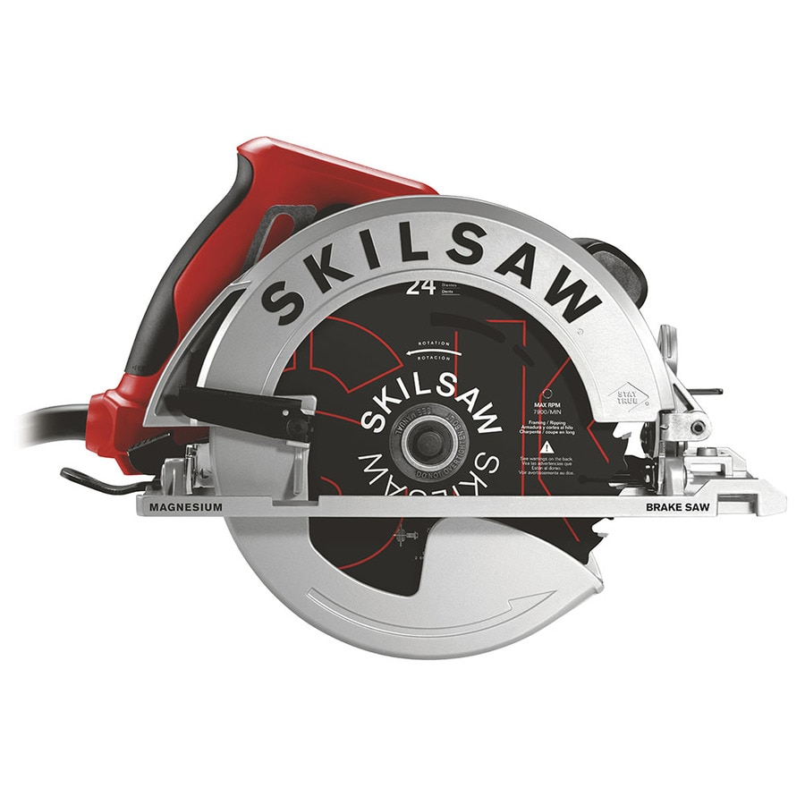 SKILSAW SIDEWINDER 15-Amp 7-1/4-in Worm Drive Corded Circular Saw with Brake