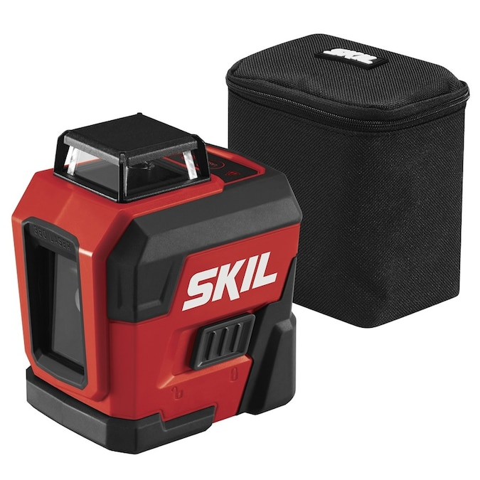 Skil 65 Ft Red Beam Self Leveling Cross Line 360 Laser Level Kit In The Laser Levels Department At Lowes Com