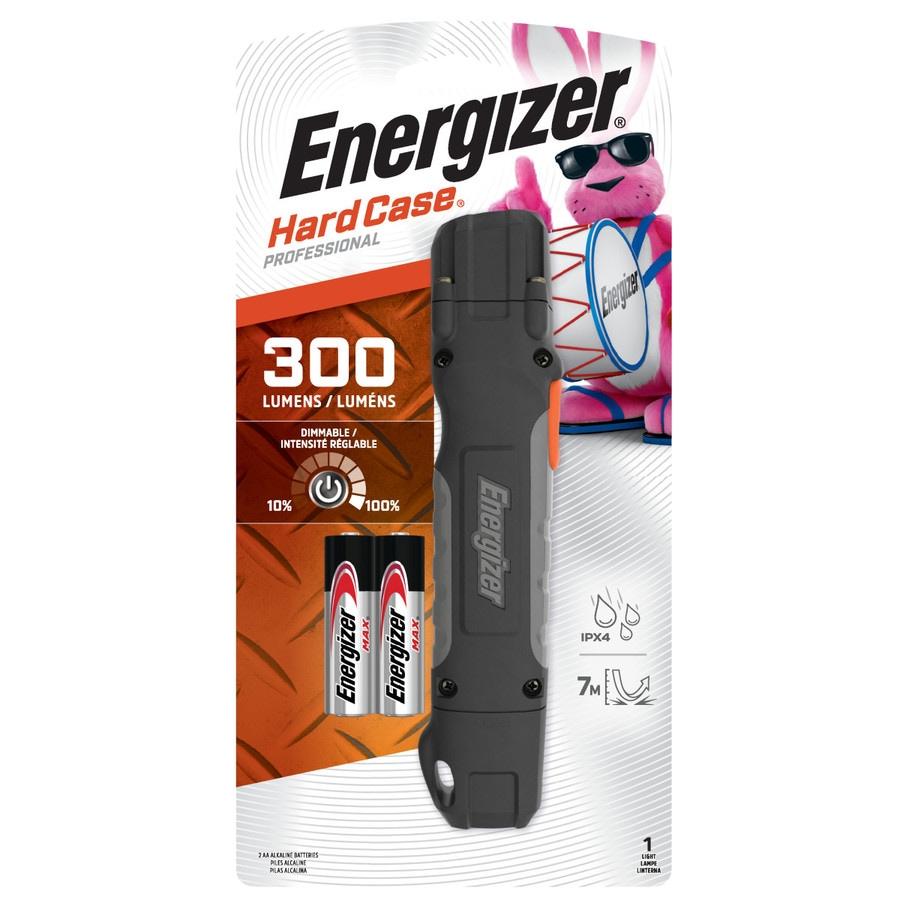 Energizer Hard Caseprofessional Task Light 300 Lumen Led Miniature Simple Torch Using Single Aa 15v Battery Flashlight Included