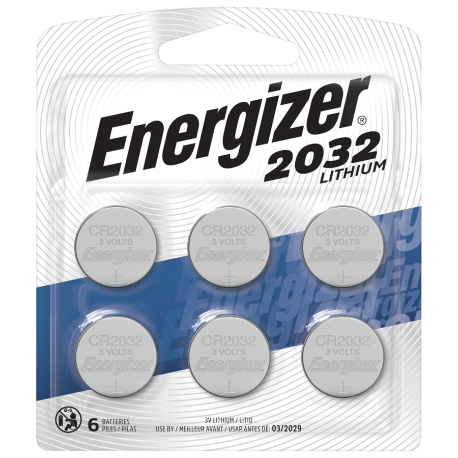 Energizer 6-Pack CR2032 Battery