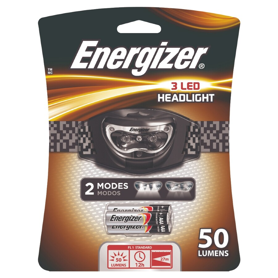 Energizer 50 Lumens Led Headlamp Battery Flashlight