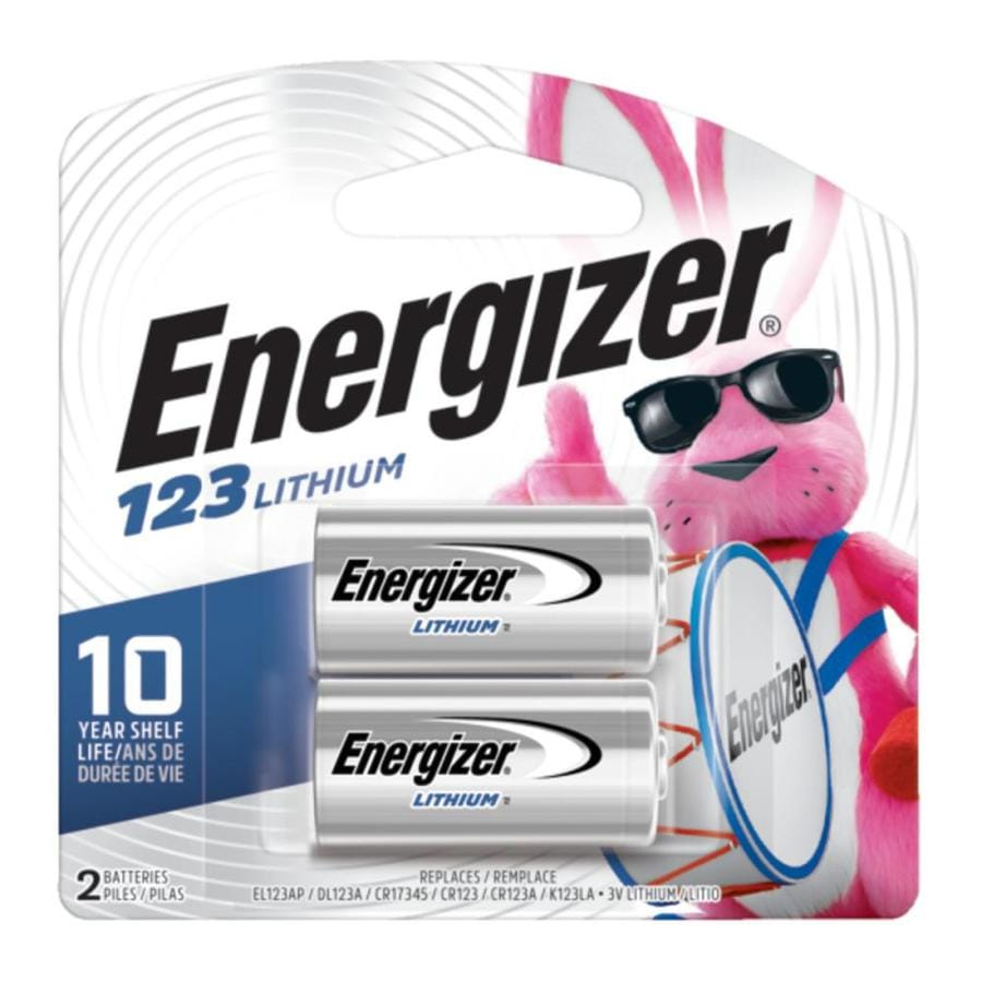 Energizer 2-Pack 123A Lithium Battery