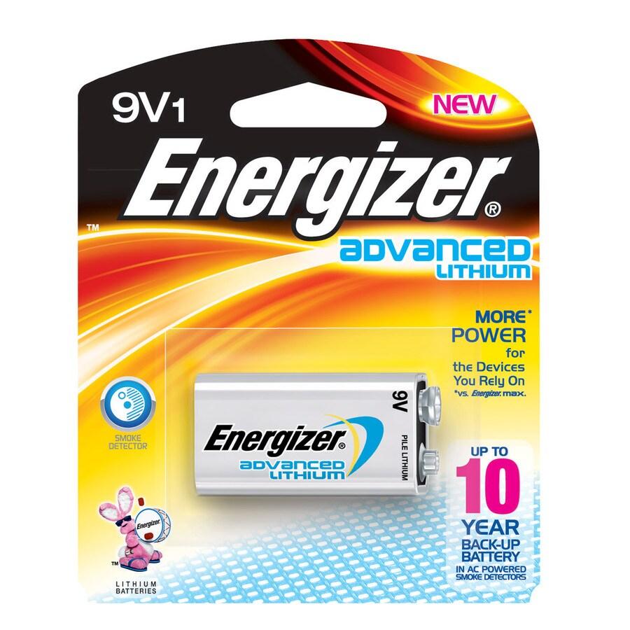 Energizer PP3 (9V) Lithium Battery