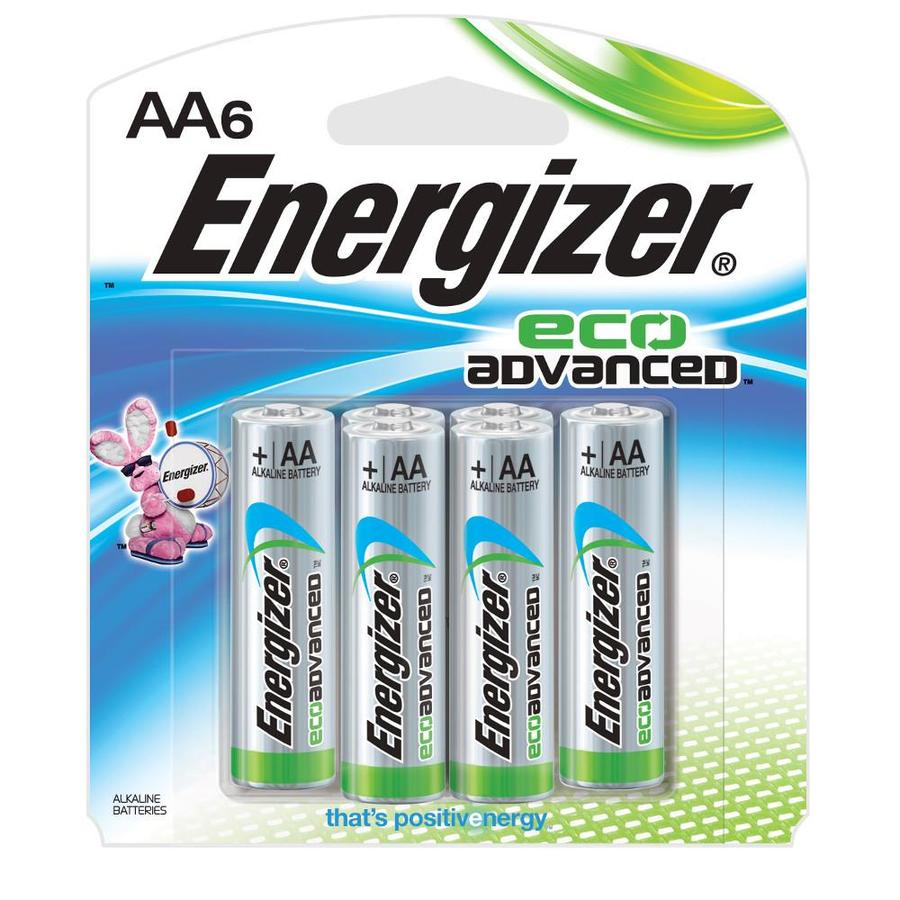 Energizer 6-Pack Aa Alkaline Battery