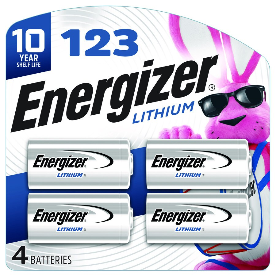 Energizer Lithium Ebe 123 Digital Camera Batteries 4 Pack At Lowescom