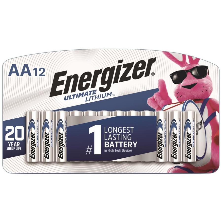 energizer ultimate lithium aa batteries 12 pack at. Black Bedroom Furniture Sets. Home Design Ideas