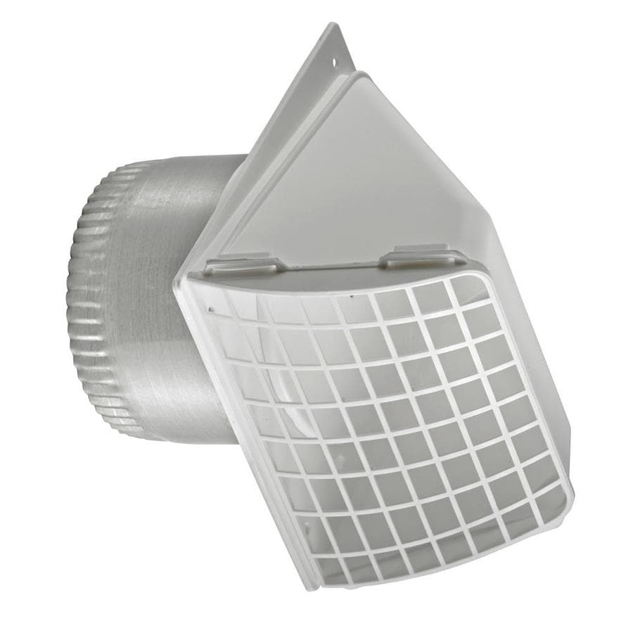 Lambro 4 in Dia Plastic Preferred With Guard Dryer Vent Hood. Shop Lambro 4 in Dia Plastic Preferred With Guard Dryer Vent Hood
