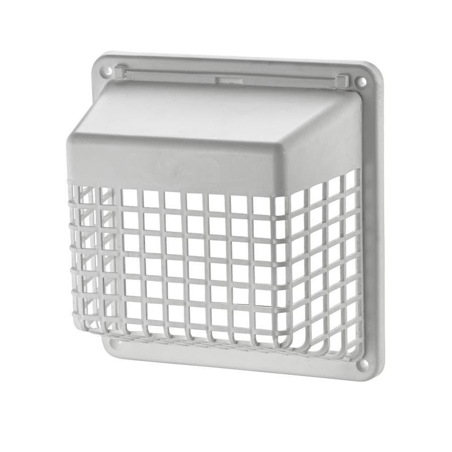 Lambro 4-in Plastic Pest Guard Dryer Vent Cap