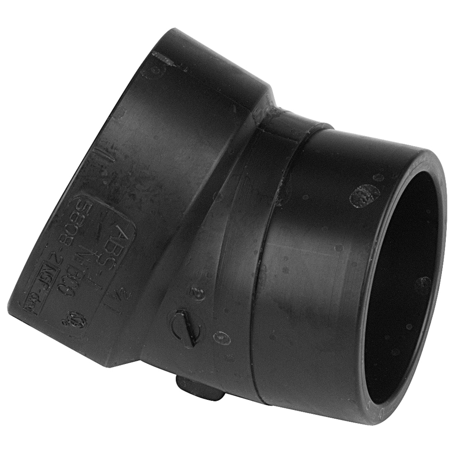 NIBCO 3-in Dia 22-1/2-Degree ABS Street Elbow Fitting