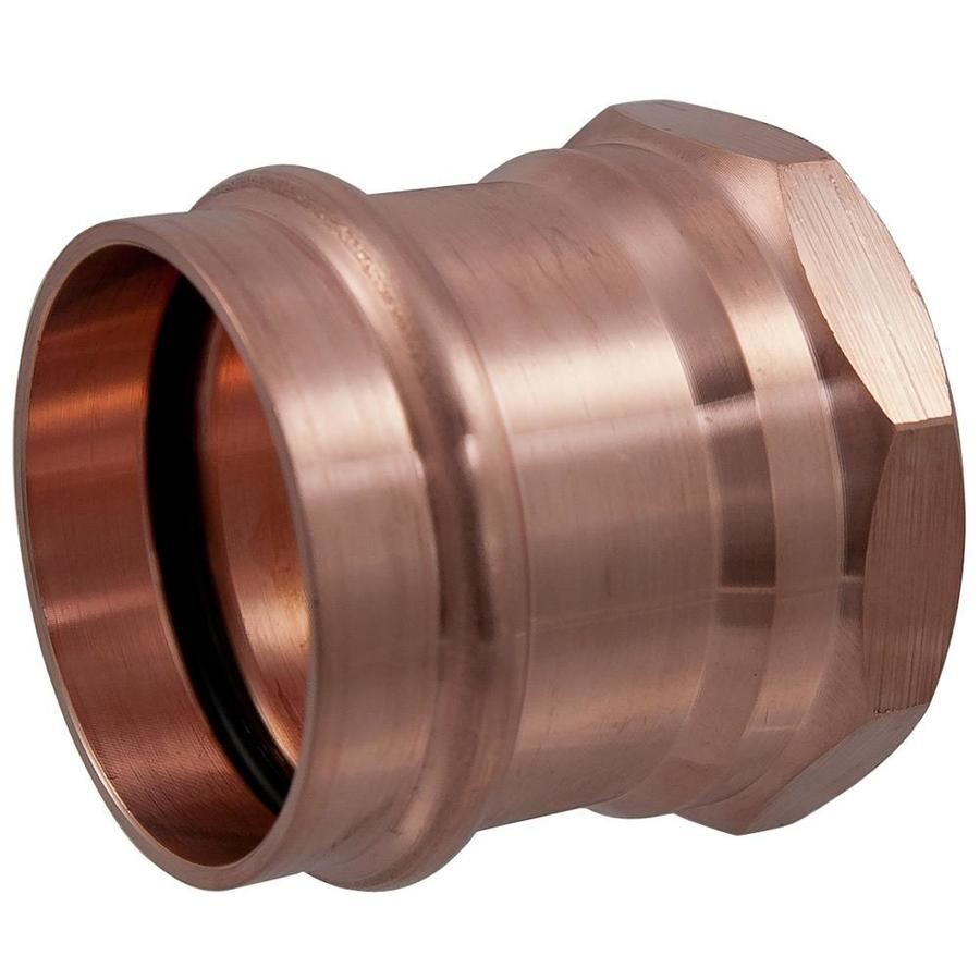 NIBCO 1/2-in x 3/4-in Copper Press-Fit Adapter Fitting