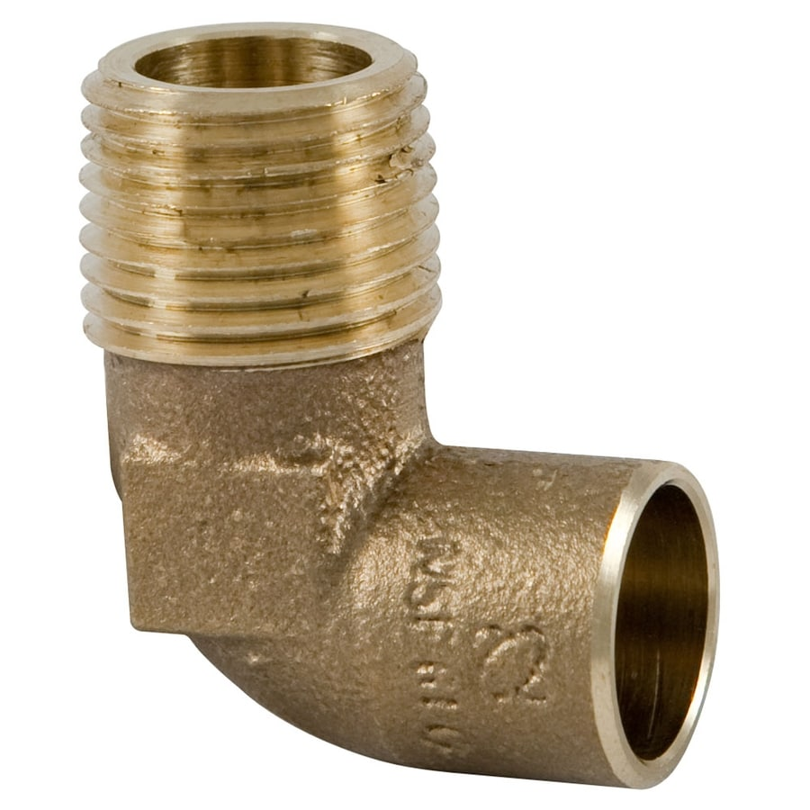 1/2-in x 1/2-in Threaded Elbow Elbow Fitting