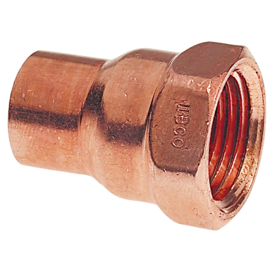 3/4-in x 1-in Copper Threaded Adapter Fitting
