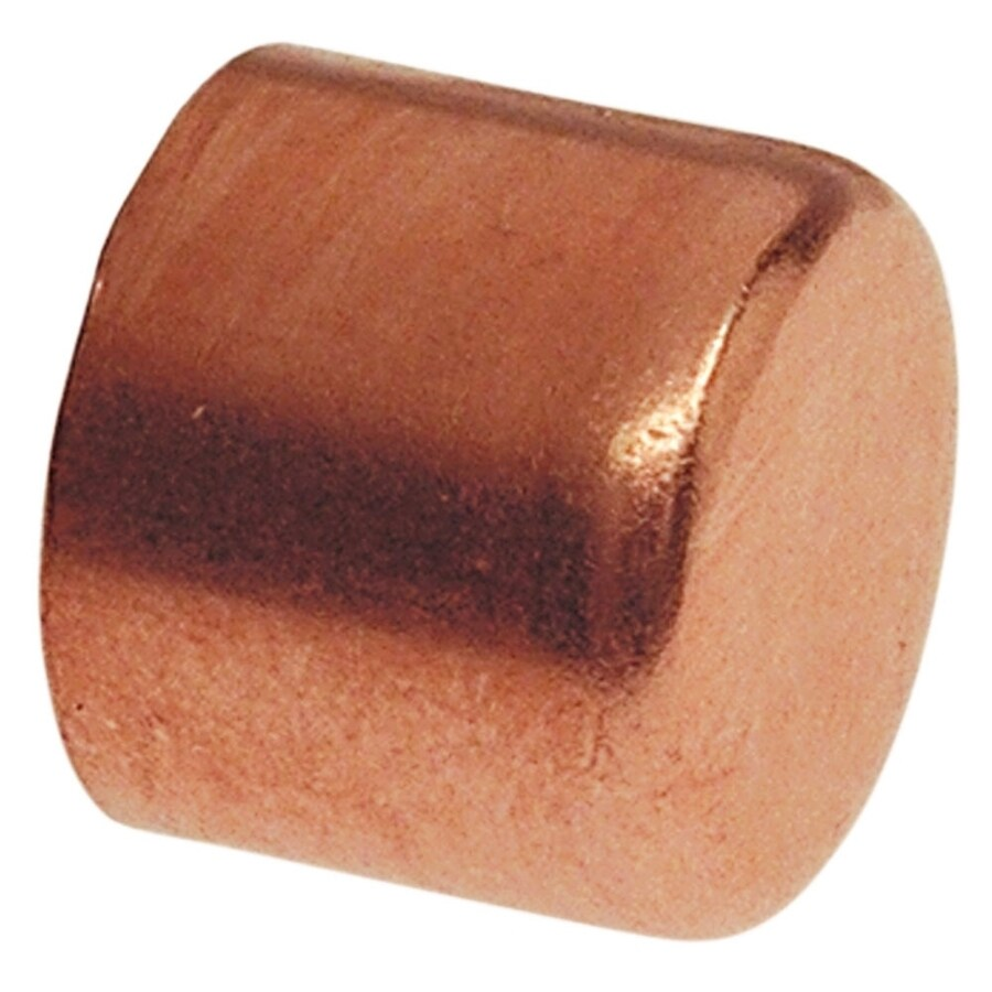 Shop Nibco 1 In Copper Slip Cap Fitting At Lowes Com